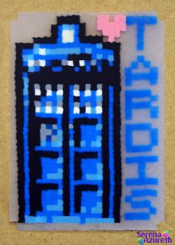 Doctor Who Tardis ATC by SerenaAzureth