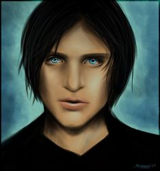 Brian Molko :: Portrait by magggg