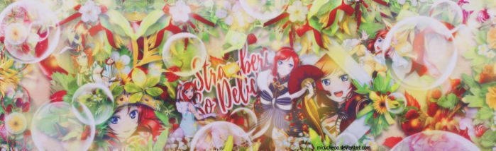 [ Cover Scrapbook ] STRAWBERRY SO DELICIOUS by Micucheoo