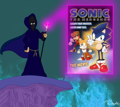 Cloaked Critic Reviews Sonic the Hedgehog (1996) by TheUnisonReturns