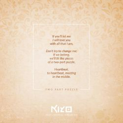 Two Part Puzzle by Kiyo-Poetry