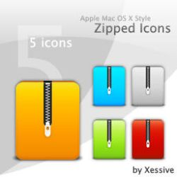 Zipped Icons by XSV