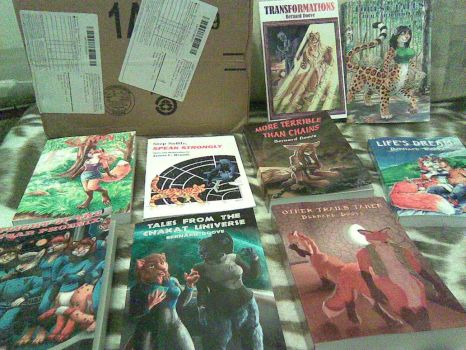 New books, part 2 by Chakat-Northspring