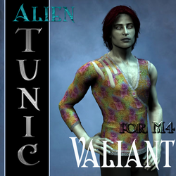 Alien Tunic Textures for M4 Valiant by mylochka