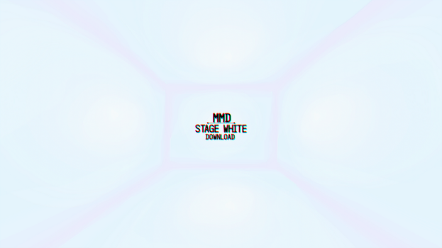 [MMD] STAGE WHITE - WHITE SPACE (DL) by DollyMolly323