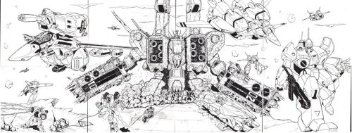 Robotech Collage by glane21