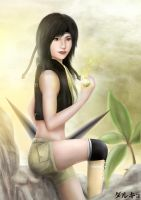 yuffie 23 years old by styndnt