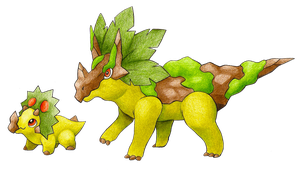 Triceratops Fakemon by FakeMakeT