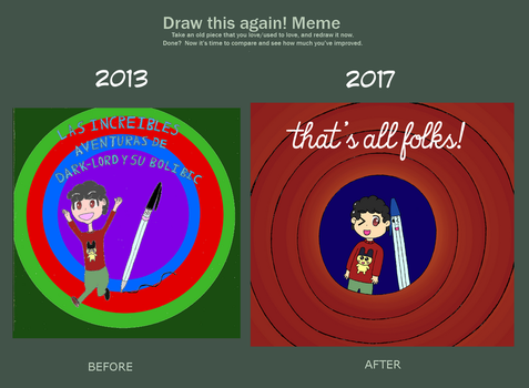 Draw This Again - That's all folks! by limaneko