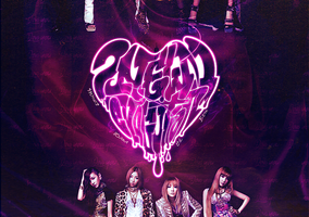 2ne1: I Love You ver 02 by aethia321