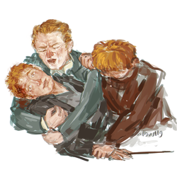 Fred Weasley by albus119
