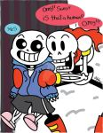 Sans And Papy by RikoriStorm