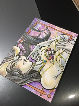 ACEO -- Albedo by The-Z
