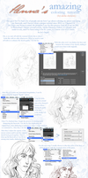 Coloring Tutorial by HennaFaunway