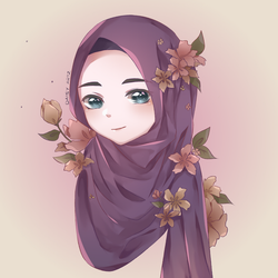 Hijab Girl by Daisy-Artz