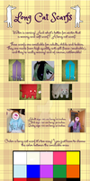 Long Cat Scarfs Commissions Available! by Ishtar-Creations