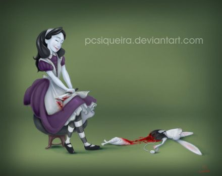 Blood Alice by pcsiqueira