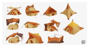 Caspen Shelter Concepts 1 by spicyroll