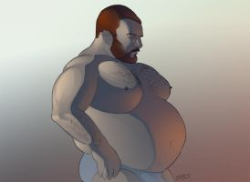 Stocky Dude by shaneoid77