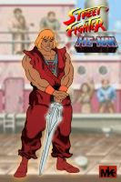 Street Fighter HE-MAN by MightyMusc