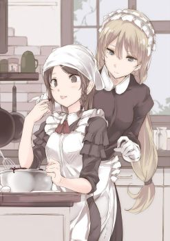 Maid by eclair-touma