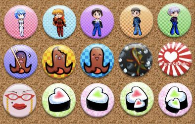 Buttons for Sale by Yoshimi-Ayumata
