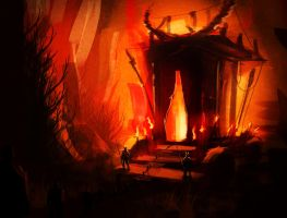 CW Entry Speed painting Devil's Carriage by Long-Pham
