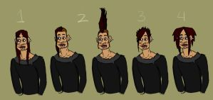 The many hairs of Martin by teddybearbones