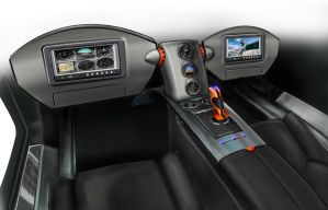 Flying Car interior part 2 by reedesigner