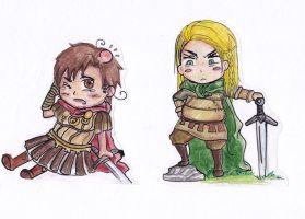 Germania and Rome by EmjayxD