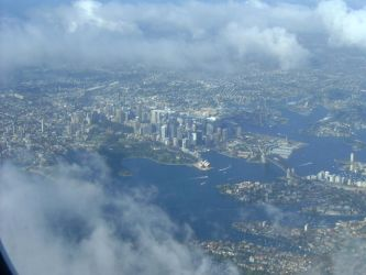 Sydney From Above by Abbywolf