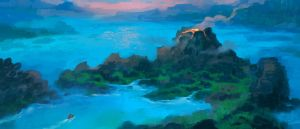 Commission: Carthographers - Islands Concept 2 by VincentiusMatthew