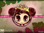Disney Royalty, Minne Mouse by Aloubell