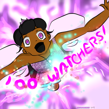 Thanks 100 Watchers! by HeyImAmethyst