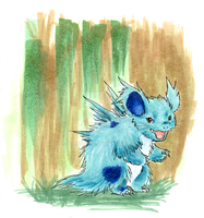 Nidorina - Plain and Quilly