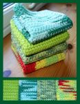 Simple crochet dishcloths by KnitLizzy