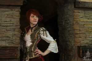 The Witcher 3. Hearts of stone. Shani (2) by Lyumos
