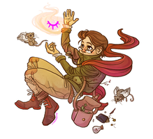 Witchsona by lucidflux