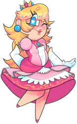 Peachy! by pxlbr