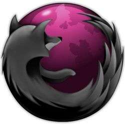 Pink and Black Firefox Windows by anathematix