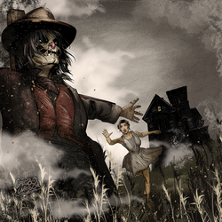 Scarecrow Album Cover by gregbo
