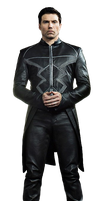 Black Bolt (Full Body) - Transparent Background! by Camo-Flauge