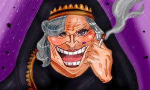 One Piece Chapter 867+ WITCH MOTHER CARMEL colors by Amanomoon