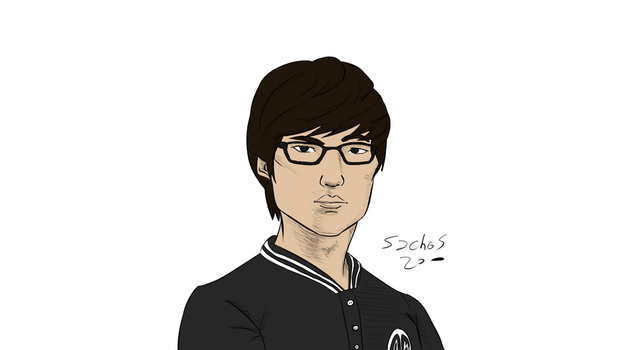 TSM Lustboy Speed Drawing - League of Legends by sachos345