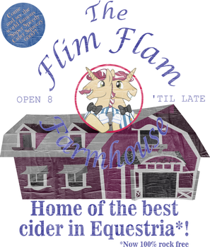 Design Thingie: Flim Flam Farmhouse by HatBulbProductions