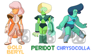 Paypl Gem Adopts - OPEN (3/3) by CaffeineCreations