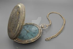 Old pocket watch (WIP) by IlyaYungin1991