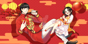 Happy lunar new year by MikiTakamoto