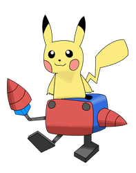 Mecha Pika by BienThavin