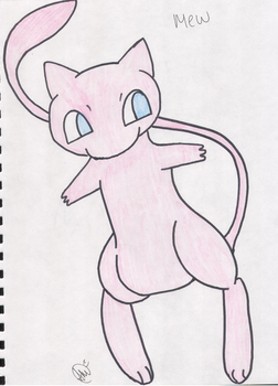 Mew by SoulEatingPuppet